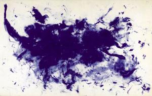 "Yves Klein's ""ANT 93, Le Buffle""( ""The Buffalo,"" 1960-61, estimate: $8-$12 million)."