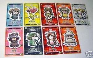 Mahou sensei cards