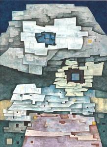"Paisaje de Papantla,"" by Gunther Gerzso."