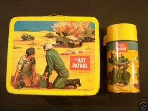 Rat Patrol Lunchbox