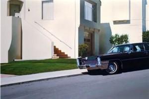 """S.F. Cadillac"" by Robert Bechtle."
