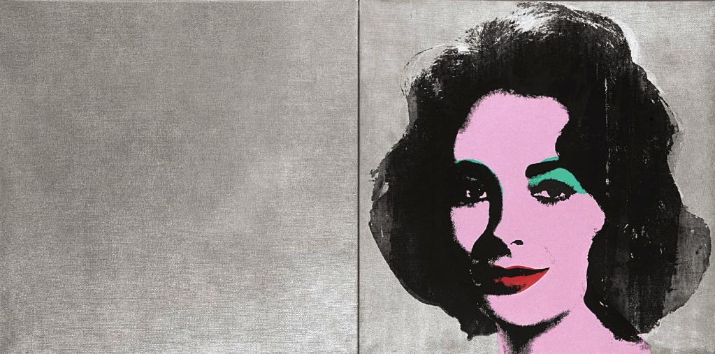 "Andy Warhol's ""Silver Liz"" (1963, estimate: $10-$15 million)."