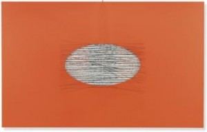 "Soto's multi-dimensional ""Un Trou sur l'Orange"" (1970) sold for $758,500."