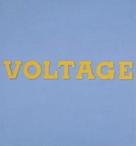 """Ed Ruscha's """"Voltage"""""""