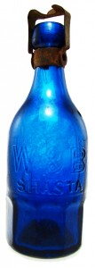 W & B Shasta/Union Glassworks Philada. (sic) Superior Mineral Water