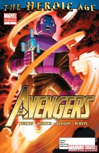 Avengers #1 2nd printing