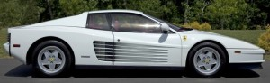 The top lot of the sale was this sleek 1990 Ferrari Testarossa 2-door coupe ($44,725).