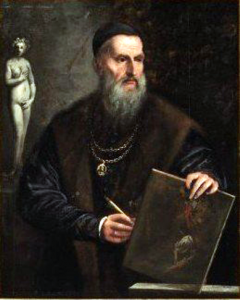 "Imaginary Self-Portrait of Titian,"" by Pietro Della Vecchia (1602/3-1678), has an estimated sales price of between $100,000 and $150,000."
