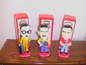 Pep Boys Bobble Head Collection