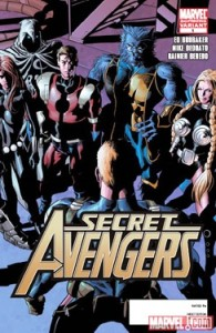 Secret Avengers #1 Second Printing Variant