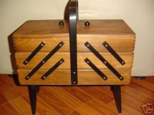 Three Tier Sewing Box