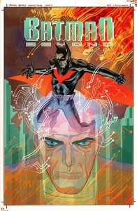 Batman Beyond #1 J.H. Williams variant