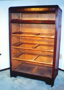 This Depression-era chest has an internal frame that supports the drawers and the sides. Check it well before you buy.