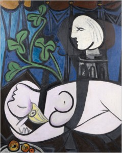 "Picasso's ""Nu au Plateau de Sculpteur (Nude, Green Leaves and Bust)"" sold for 106.5 million last May, the most ever paid for a Picasso."