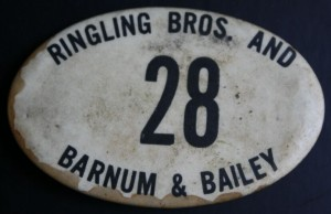 My Ringling Bros. and Barnum & Bailey Employee Badge is #28.