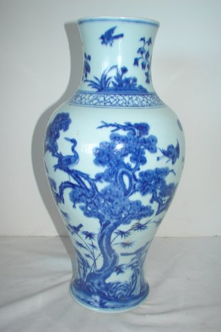 Oriental Vases - Pat's Old House of Antiques CALL 1-866-926-1811