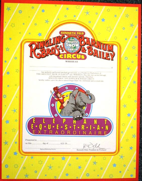 Certificates like this are valued at $5-10.