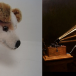 Steiff Fox and HMV