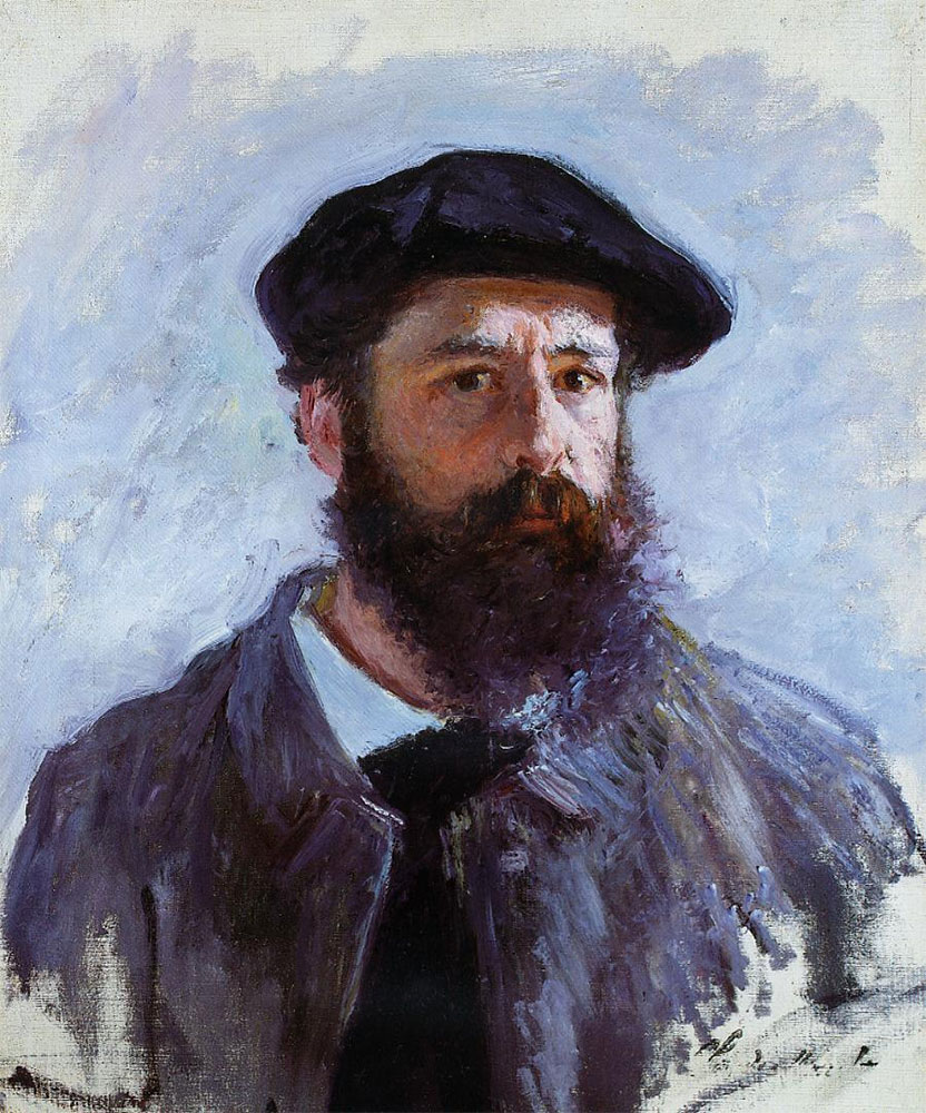 Monet's self portrait. In 1978, pieces of the set began to be recreated by Haviland & Parlon (marked Charles Field Haviland Limoges). The line can be found in various formats and is sometimes also stamped by Tiffany & Co. and the Monet Museum. Many collectors love to make entire meals based on the same recipes that Monet himself enjoyed more than 100 years ago, and serve them to friends in Monet's dishes. Monet had a large extended family that dined together. Lunch was the main meal at Giverny (served promptly at 11:30 a.m.) and the one to which guests might be invited. It included a hot appetizer, a meat or fish dish, hot vegetables, salad and dessert. Dinner was at 7 p.m. and soup