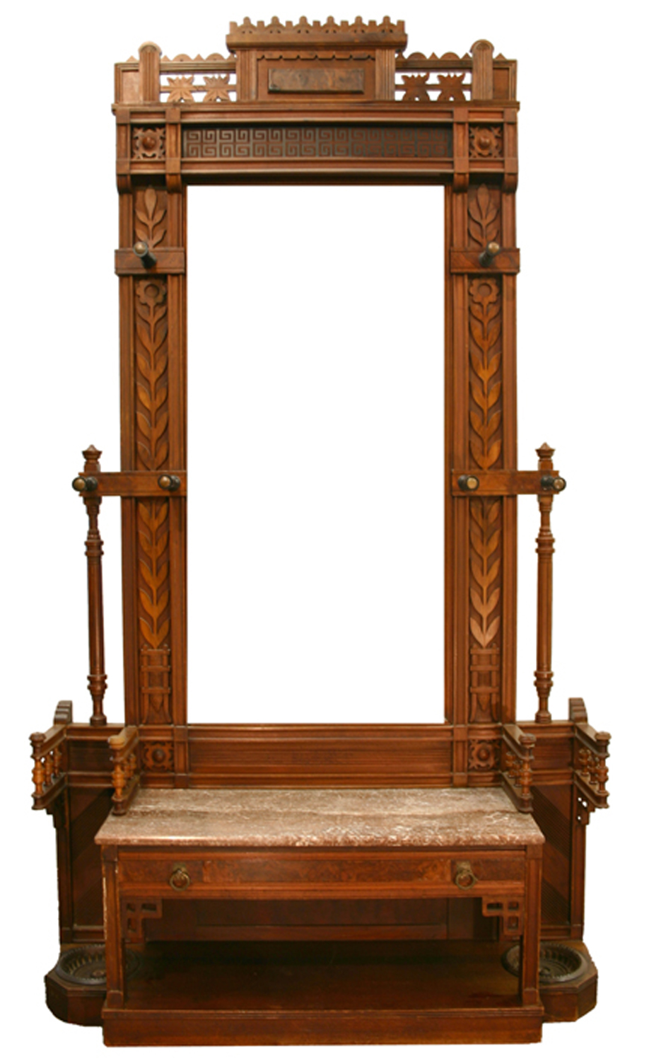 Victorian Specialty Furniture Wait In The Hall Worthpoint