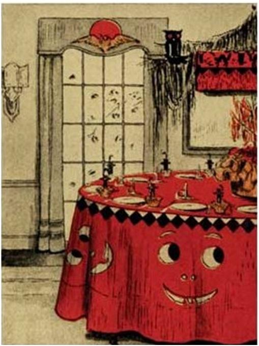 dennisons bogie books included table decoration ideas
