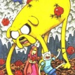 Adventure Time #1 Incentive Jeffrey Brown Variant Cover