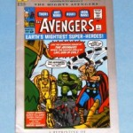 A reprint of The Avengers #1 (Sept. 1963) comic book. An original copy can sell for thousands of dollars; this Marvel Milestone