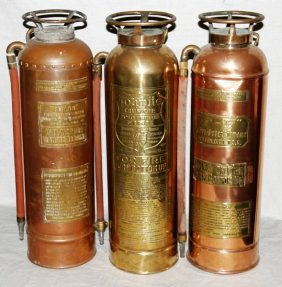 Are old fire extinguishers worth anything