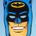 A Batman promo cardboard mask, given away by General Electric in 1966. A Robin mask is printed on the reversed side. Value $5 -