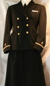 This is a World War II U.S. Navy nurse's uniform. It sold on eBay ...