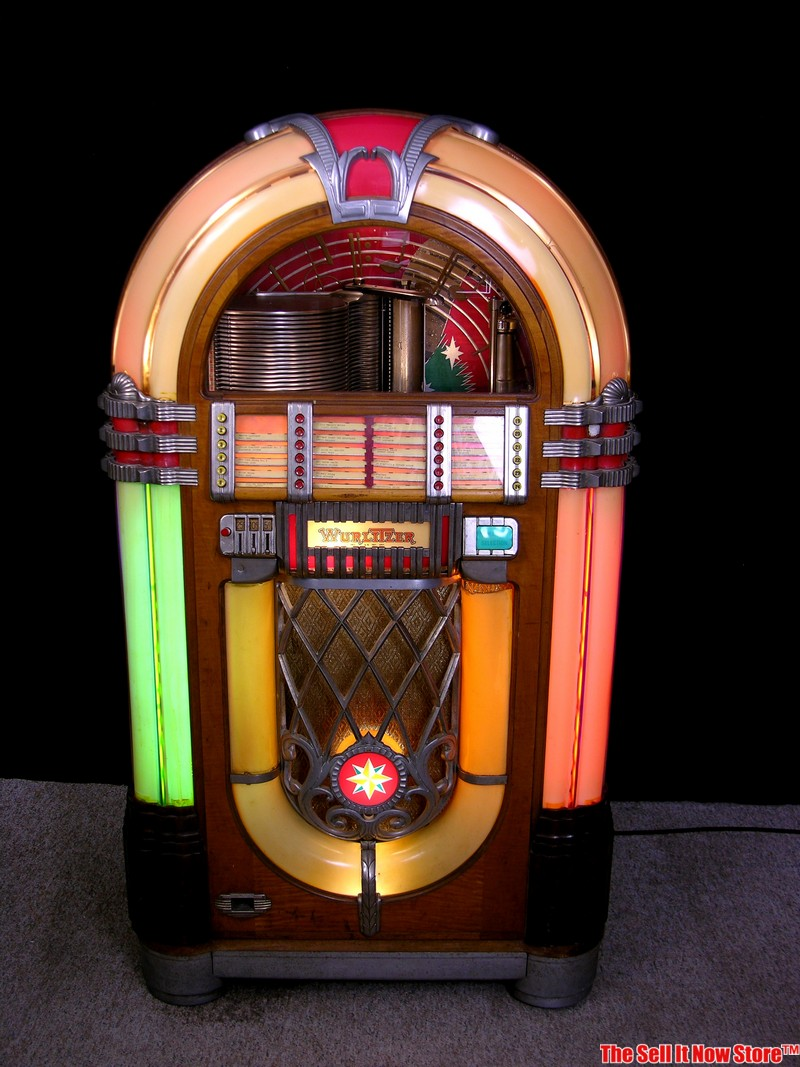 jukeboxes and collecting make beautiful music together. Black Bedroom Furniture Sets. Home Design Ideas