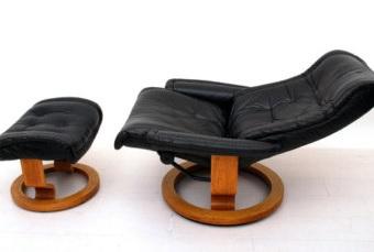 Vintage Ekornes lounge set often seen online for as little as $400.