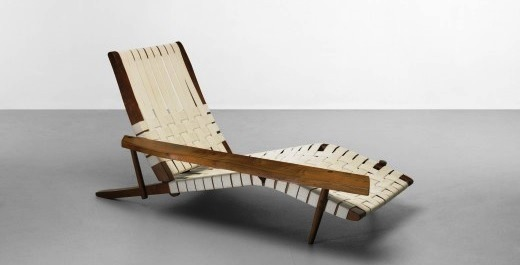 You'll have to pony up $40,000 (at the low end) for this George Nakashima lounge.