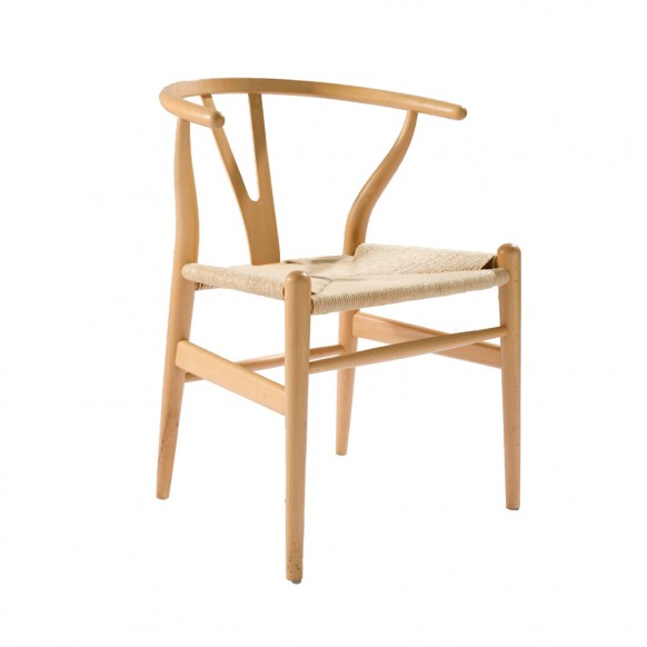 the wishbone chair was one of 100 the designer put into production