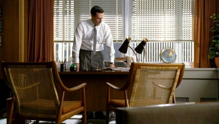 Mad Men Office cool furniture on the hit show mad-men - wood menders