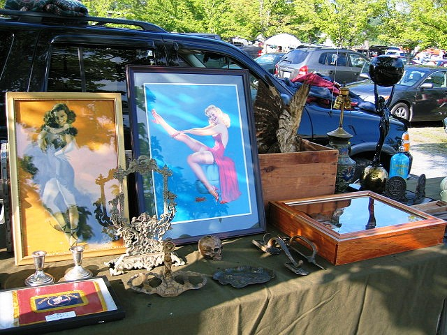 Flea markets, such as the Arundel Flea Market—which could be the best flea market in Maine—offers a place for people to sell things that would not be efficient or worth the time on eBay.