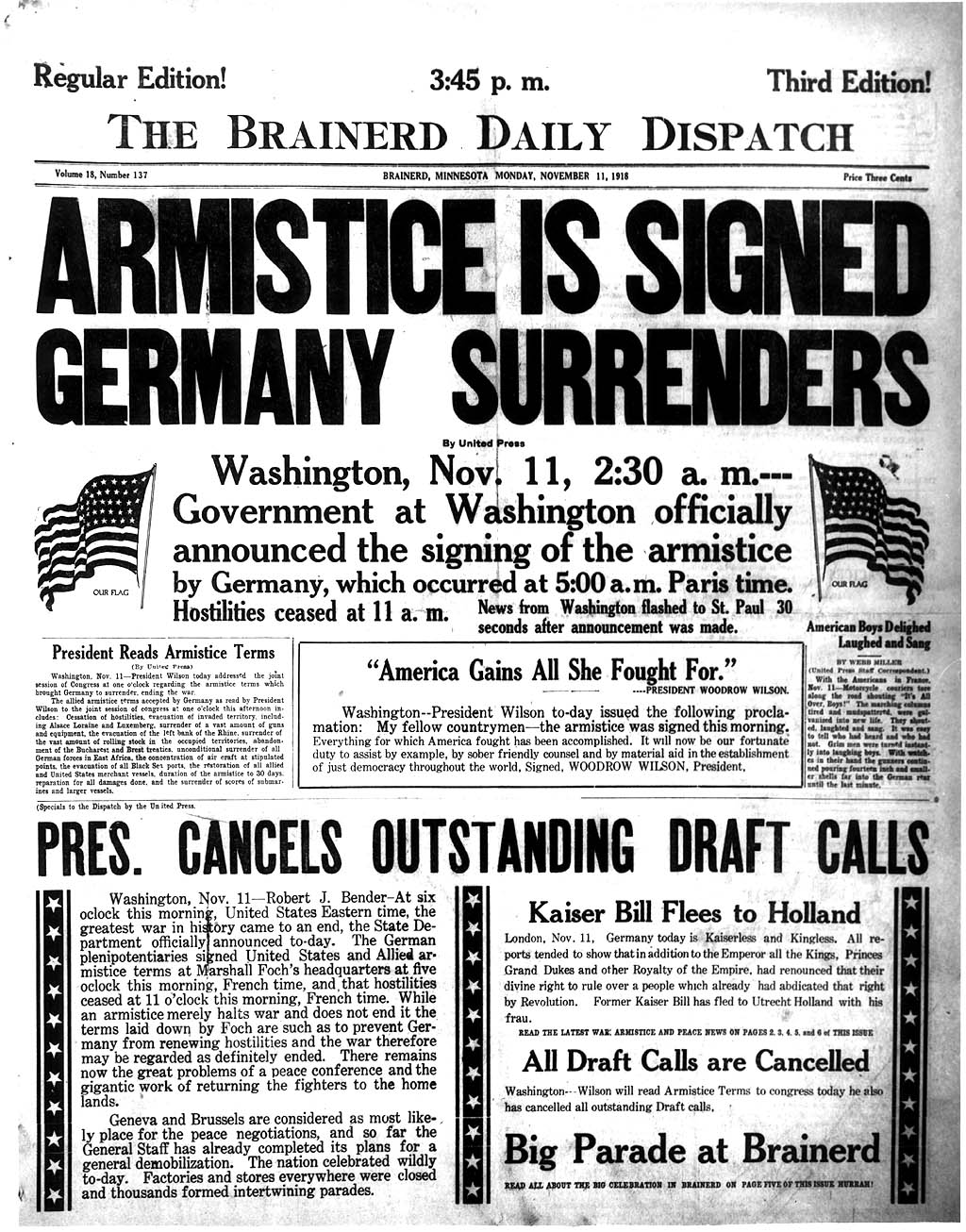 War Armistice World War i Armistice