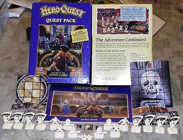 heroquest elf quest pack pdf