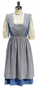 "A Dorothy ""test"" dress and pinafore from ""The Wizard of Oz"" is expected to lead the Bonhams/TCM ""No Place Like Hollywood"" auction, scheduled for November, with a presale estimate of $200,000 to 300,000. (Photo: Bonhams)"