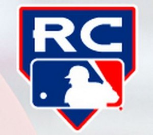 "The Topps Company, Major League Baseball's exclusive licensee to produce trading cards, started putting a specially created ""RC"" logo on a players card once the player made the team out of spring training, was called up or made the team's late season 40-man roster, designating it as an ""official"" rookie card. Still, it doesn't mean much to collectors."