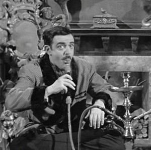 Was Gomez Addams the ultimate mantiques collector? A hookah is certainly a legitimate mantique.
