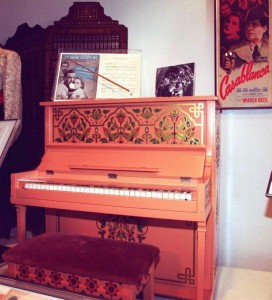 """The Rick's Café piano is in working condition and was used in a concert of """"Casablanca"""" music composer Max Steiner's in a 2006 concert at the Hollywood Bowl."""