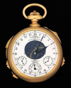 The Henry Graves Supercomplication watch—made by Patek Philippe in 1933—is the most famous and expensive watch in the world. It will be put up for auction in November at Sotheby's Geneva with a presale estimate of $16 million.
