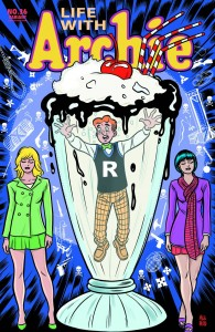 Life with Archie #36 Mike Allred cover.