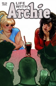 Life with Archie #36 Adam Hughes cover.