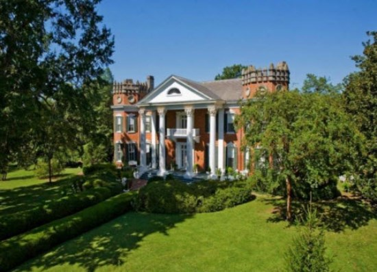 The entire contents of Walter Place—a spectacular antebellum home completed in 1859 and used as a Union Army camp and officers' quarters during the Civil War—will be sold at auction July 11-12 by Stevens Auction Company.