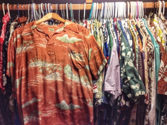 Dale Hope's closet houses some 400 aloha shirts today. (Photo: Dale Hope)