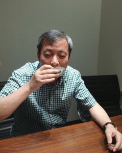 After the transaction was complete, Liu calmly sipped some tea from the little, 3¼-inch porcelain cup in front of the attending media. One of the reasons he pulled the little bit of theater was to prove that Chinese collectors do pay for top-shelf auction items and would not default on their winning bids.