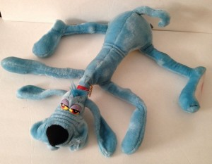 This 90-cent steal turned out to be a Foofur Blue Dog by Phil Mandez Dakin, circa 1984, and later sold for $49.99.