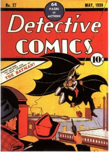 Batman's first appearance sells for north of $1 million in higher grade condition.